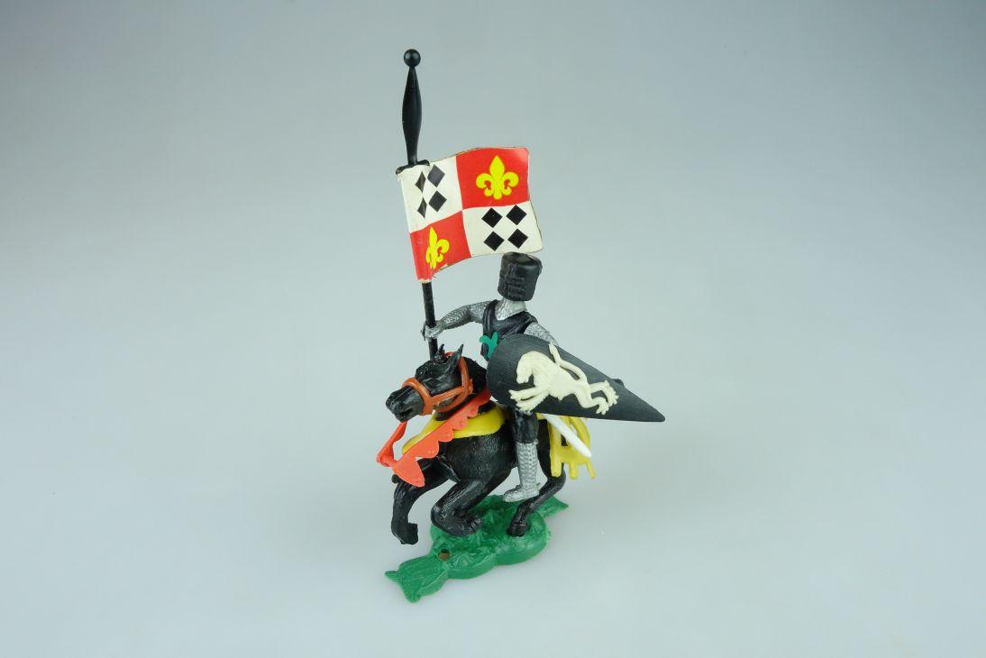 HONG KONG Topfhelm Ritter Reiter mit Flagge Fahne selten 108525