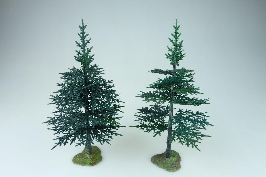 Britains 1/32 Tree Models 2x 1809 Fir Tanne Farm Garden Baum 108568