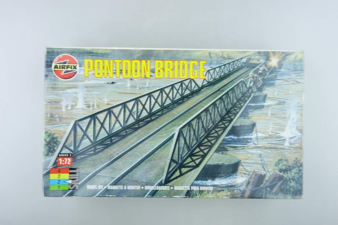Airfix 1/72 Pontoon Bridge Brücke Sammler vintage model kit 108507