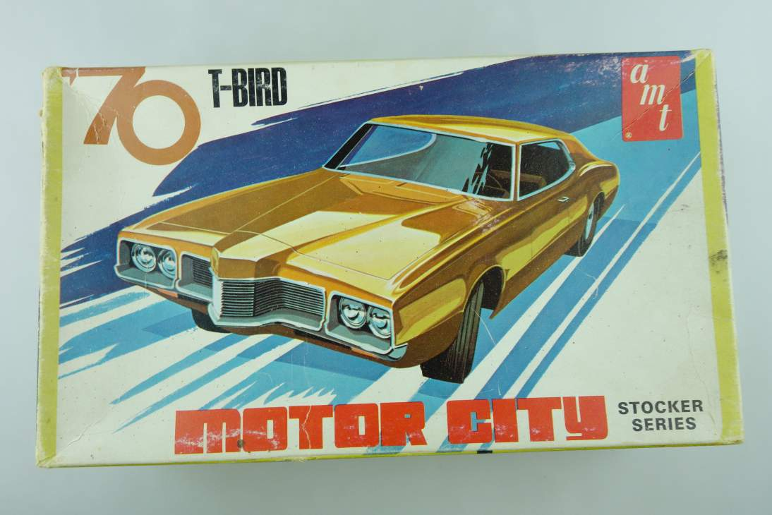 amt 1/25 T-Bird '76 Vintage CIty X855 100 NUR KARTON! ONLY BOX! no kit 108509
