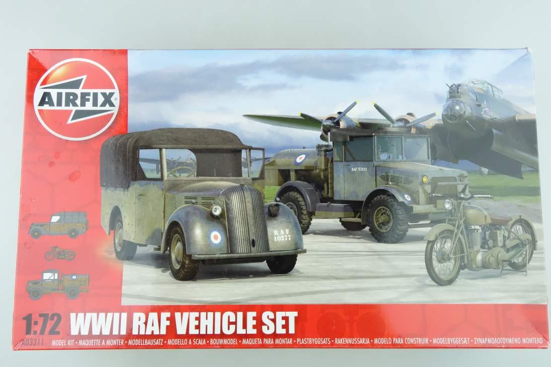 Airfix 1/72 WWII RAF Vehicle Set Fahrzeugset A03311 model kit 108516