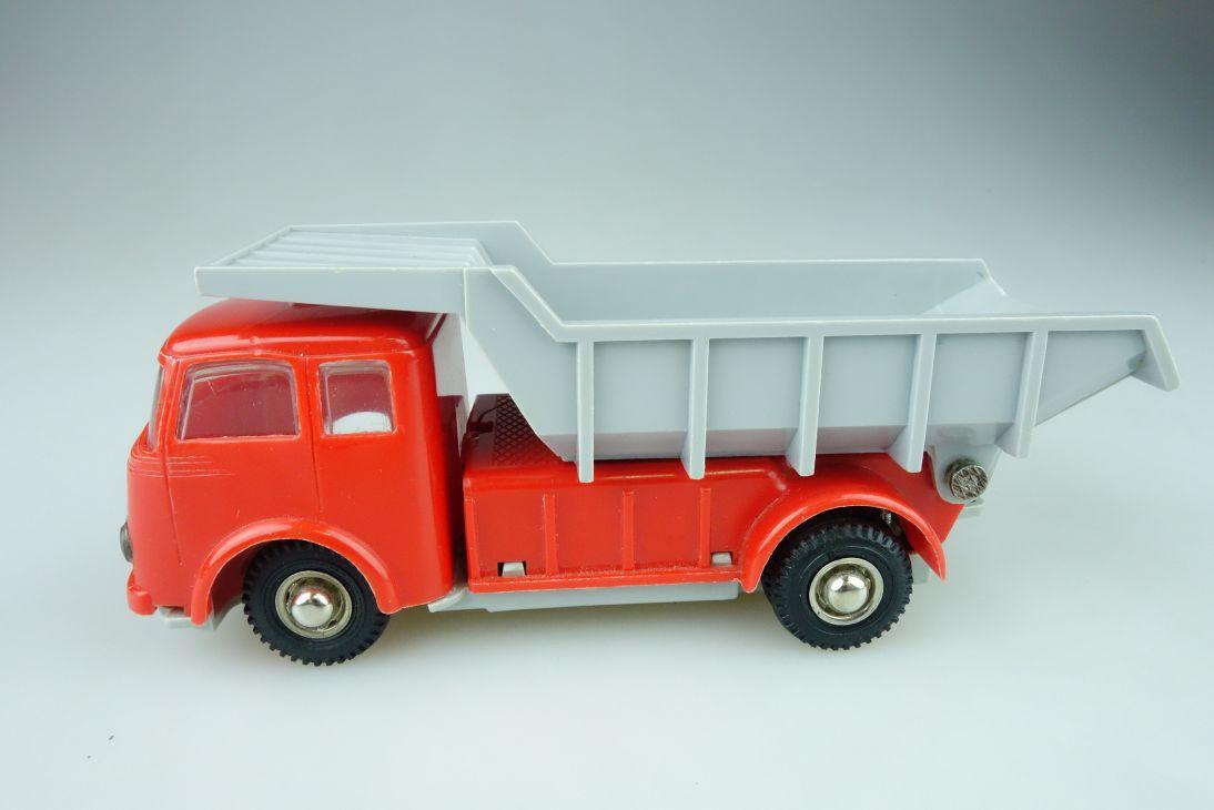 DUX 710 Mercedes Rundhauber Kipper Tipper truck vintage toy W. Germany 108591