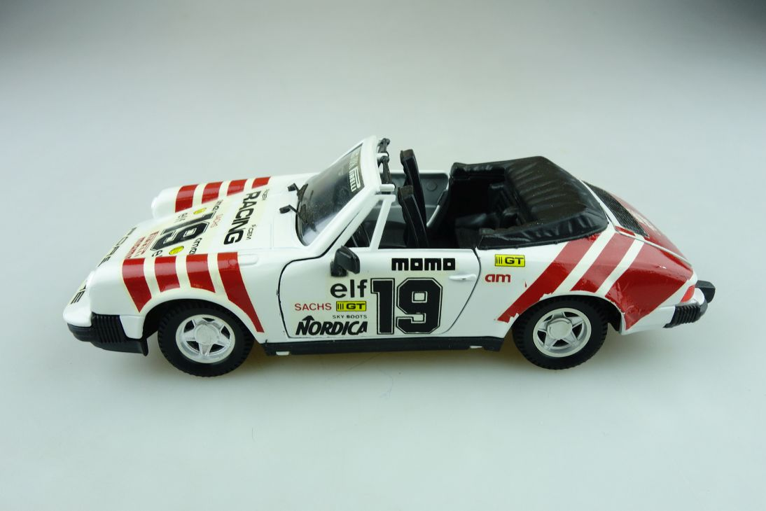 2215 Polistil Tonka 1/25 Porsche 911 SC Cabriolet Facem Racing selten  511610