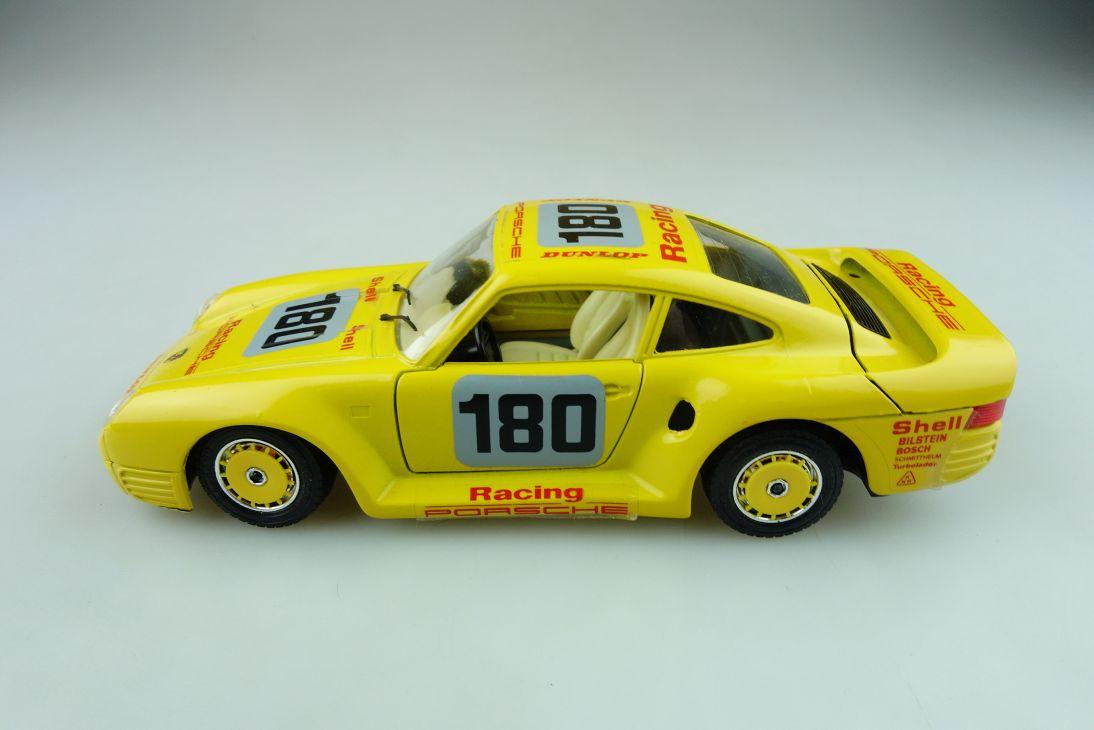 Bburago 1/24 Porsche 959 Coupe Shell Dunlop Racing ohne Box 511611
