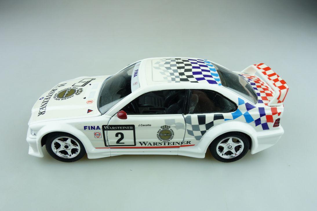 169 Bburago 1/24 BMW M3 Coupe Warsteiner Racing Cecotto ohne Box 511614