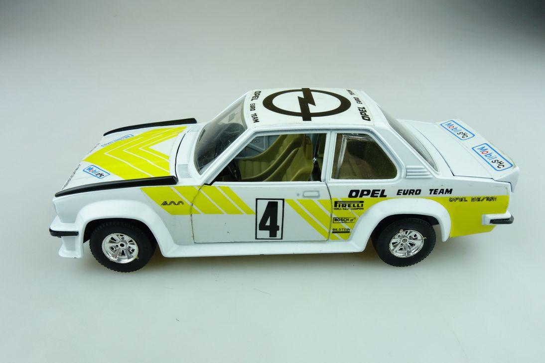 153 Bburago 1/24 Opel Ascona B 400 Rally selten Euro Team ohne Box 511619