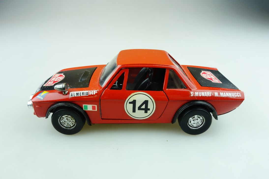 S 8 Polistil 1/25 Lancia Fulvia 1600 HF Coupe Rallye Monte Carlo ohne Box 511626