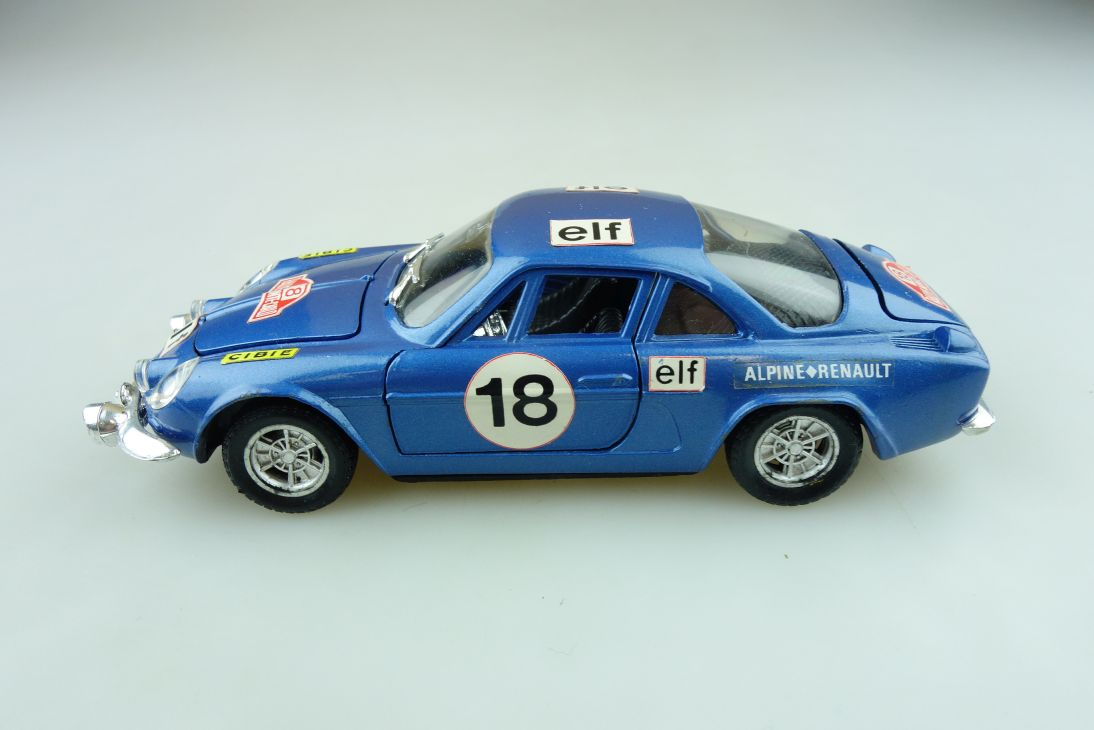 S 21 Polistil 1/25 Renault Alpine 1600 S Rallye Monte Carlo ohne Box 511628