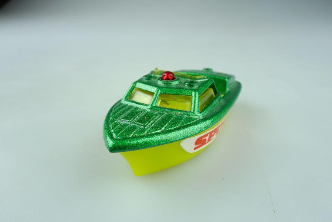 Sportboot Torpedo 1/70 Police Launch Modell Boat Metall Plastik ohne Box 511644
