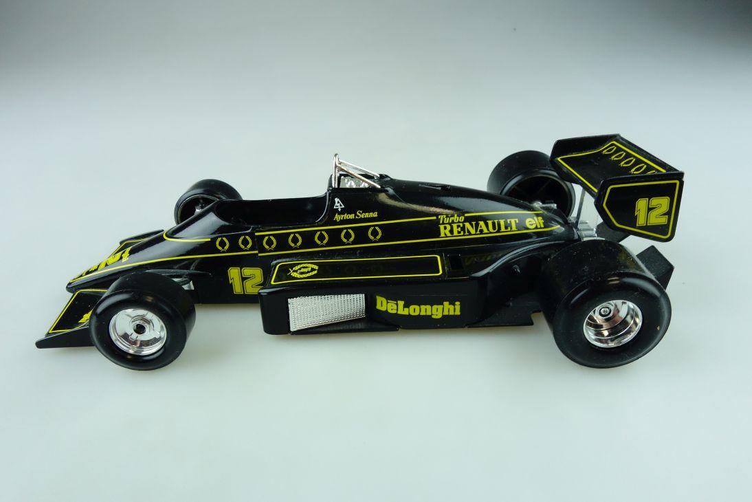 6107 Burago 1/24 Renault Lotus 97 T Formel 1 Senna Rennwagen ohne Box 511711