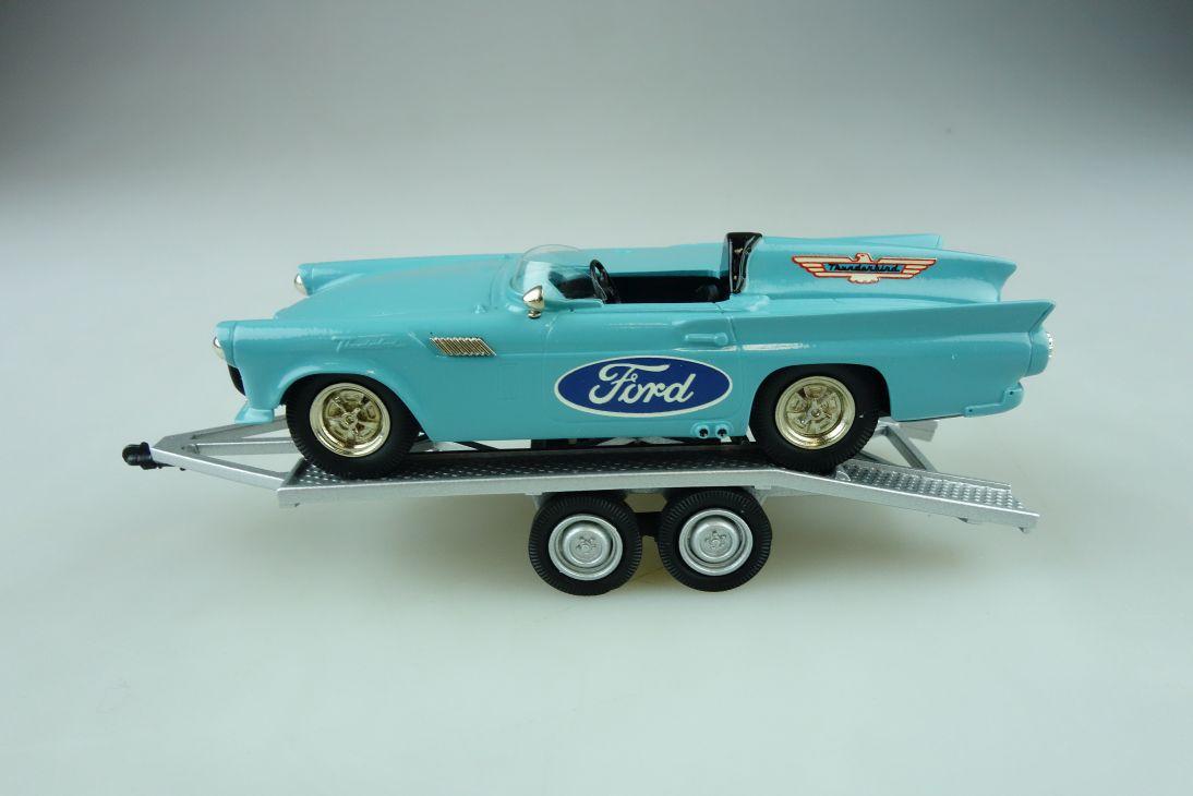 FS 01 Brooklin 1/43 Ford Thunderbird 1957 with Trailer Speed Week mit Box 511722