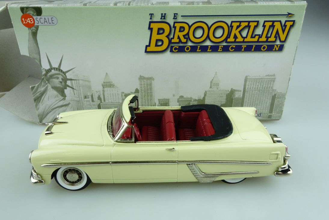 140a Brooklin 1/43 Hudson Hornet Convertible 1954 Cabrio cream mit Box 511727