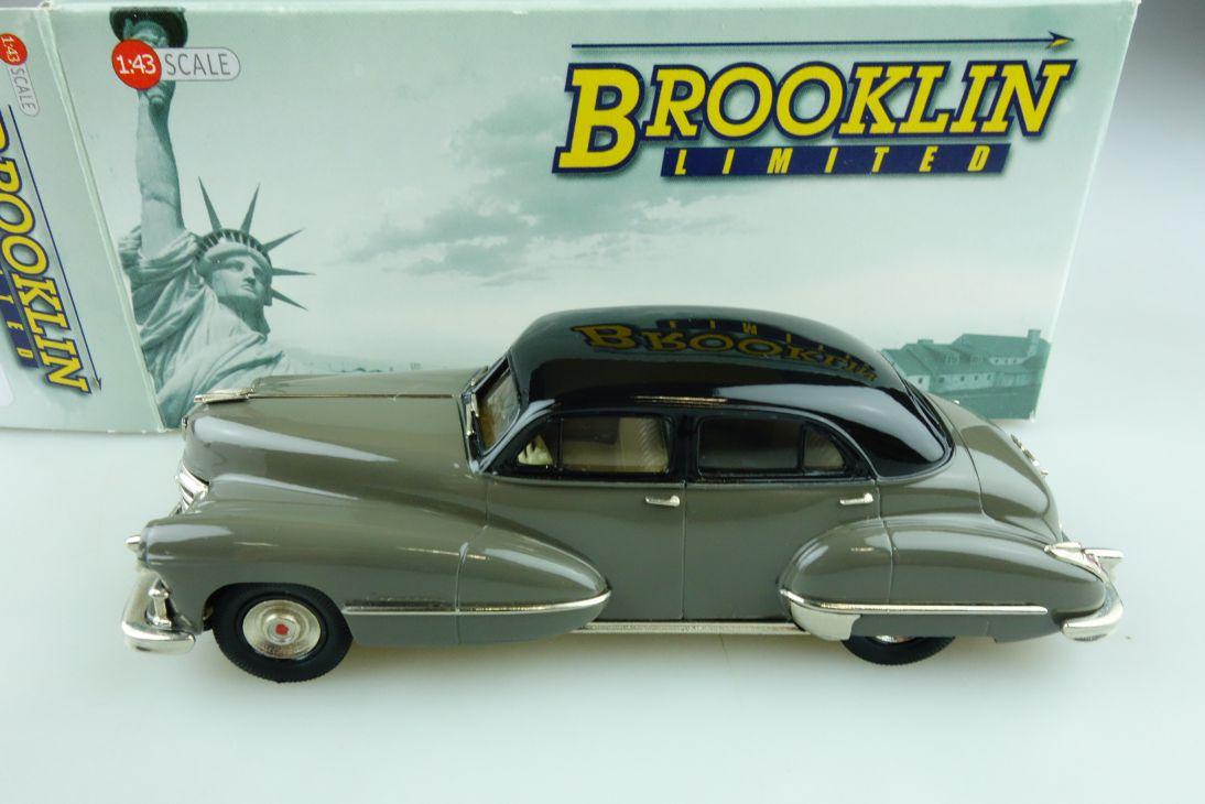 07 Brooklin 1/43 Cadillac Serie 62 4 Door Sedan 1947 gunmetalgrey mit Box 511730