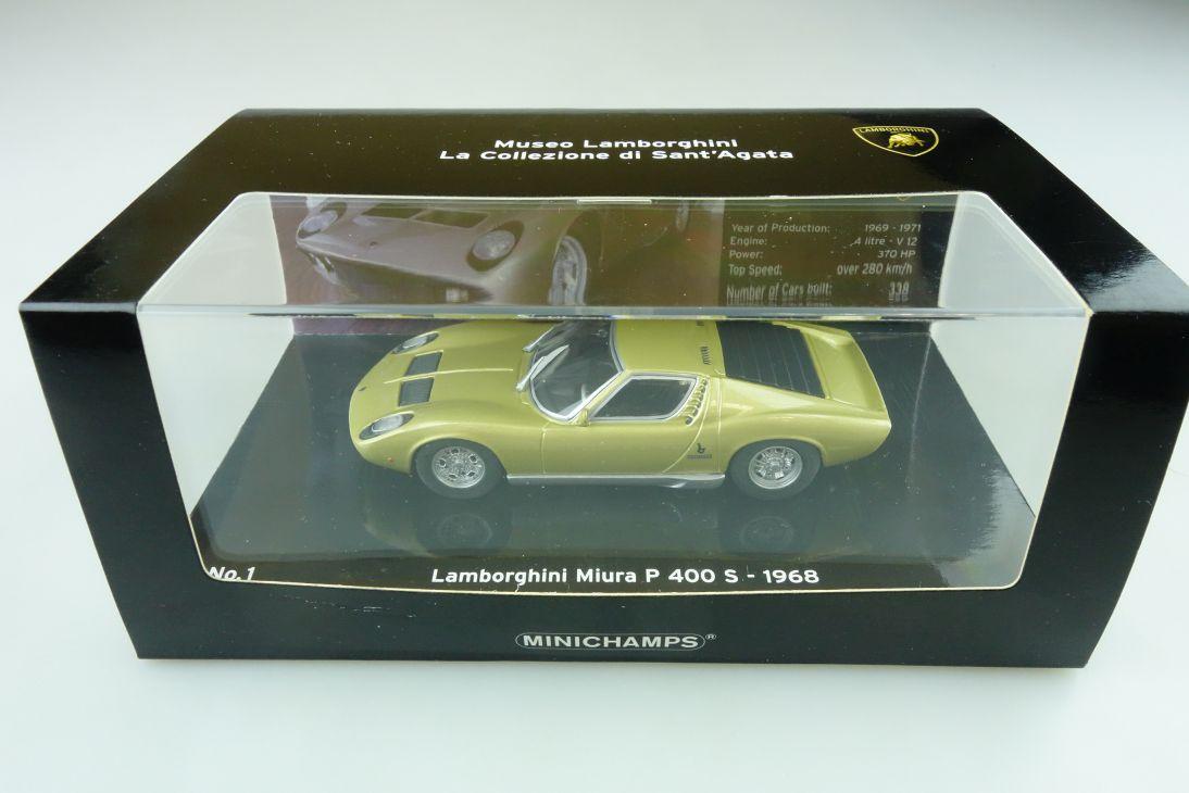 436103000 Minichamps 1/43 Lamborghini Miura P 400 Museo Sant'Agata m. Box 511751