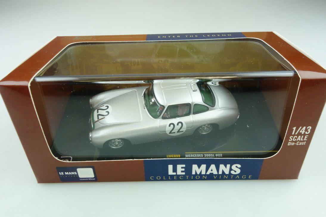 Collection Vintage IXO 1/43 Mercedes Benz 300 SL Le Mans 1952 mit Box 511765