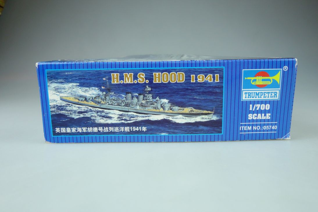 Trumpeter 05740 1//700 HMS Battle Cruiser Hood 1941
