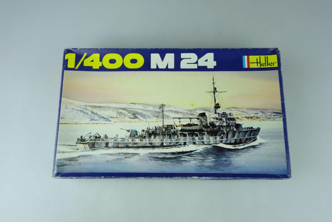 Heller 1/400 M 24 No. 1054  vintage model kit 108825