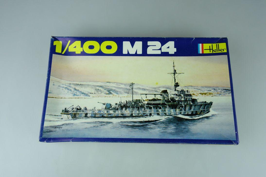 Heller 1/400 M 24 No. 1054  vintage model kit 108827