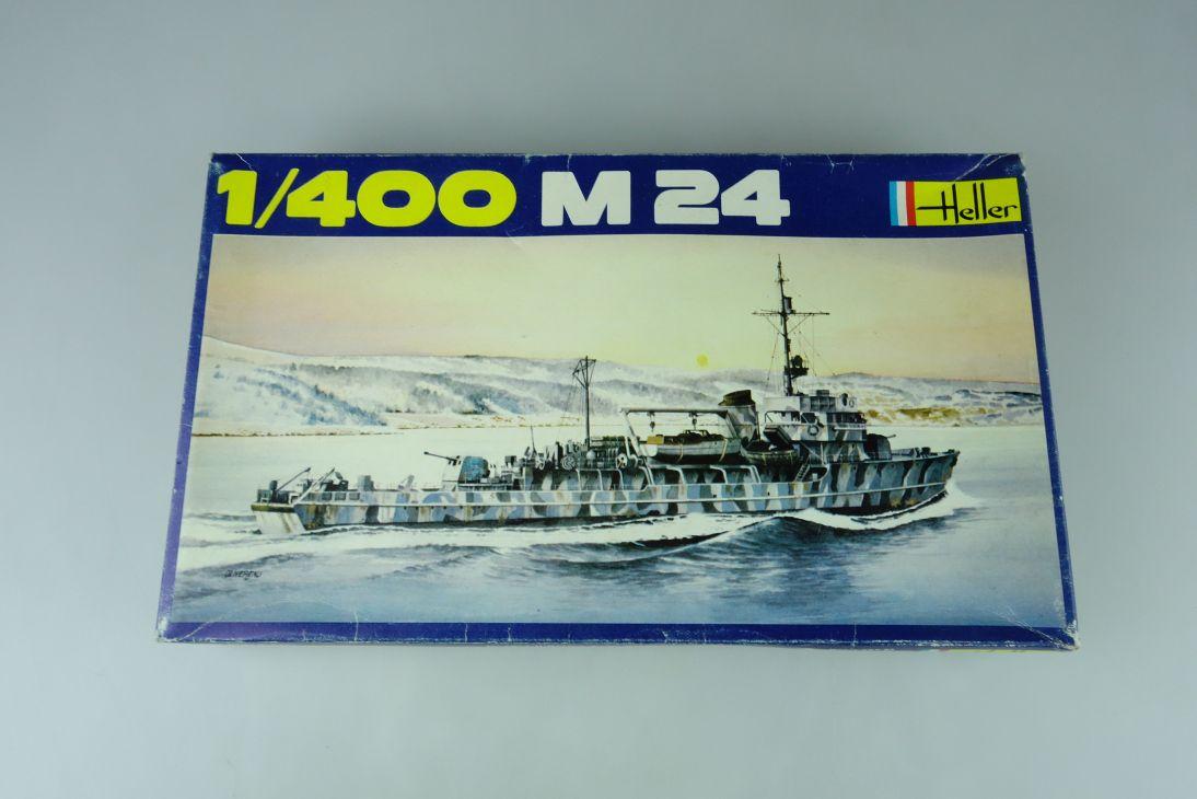 Heller 1/400 M24 No. 1054 vintage model kit 108828