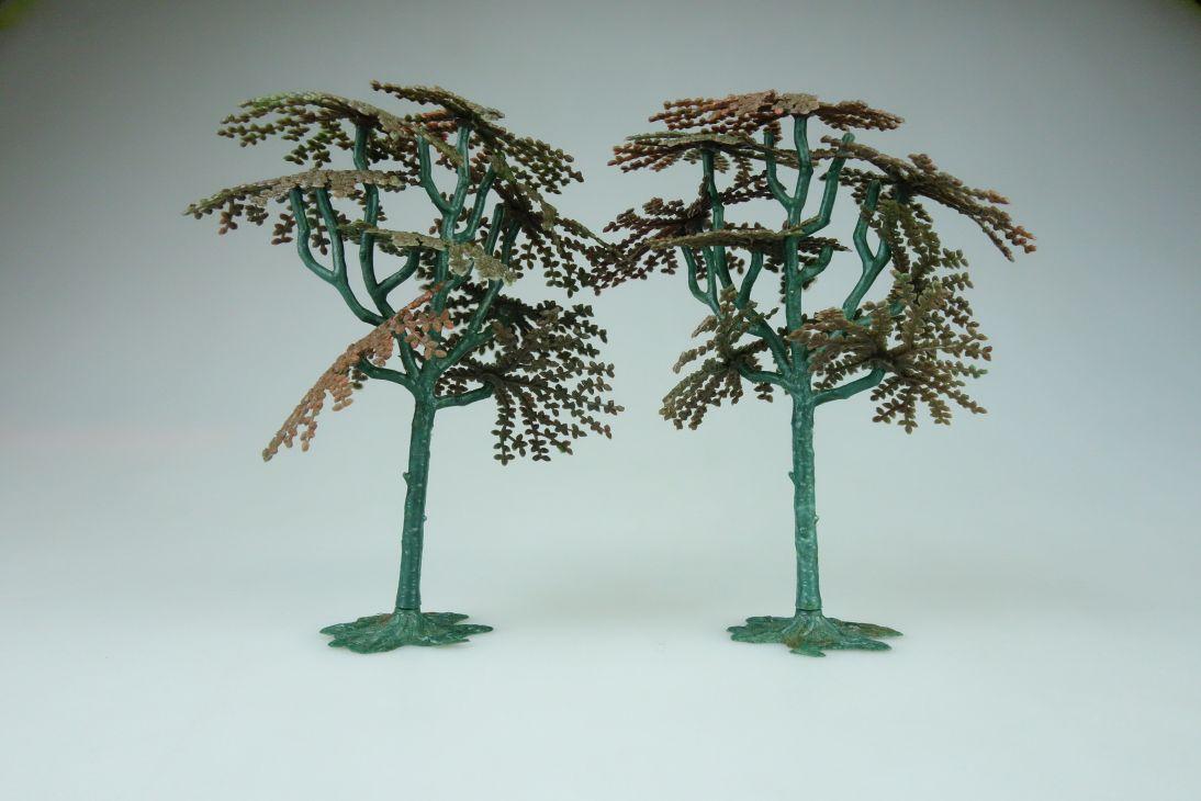 Siku Bäume 2x 60er Jahre V 653 vintage Sammler model kit 108843