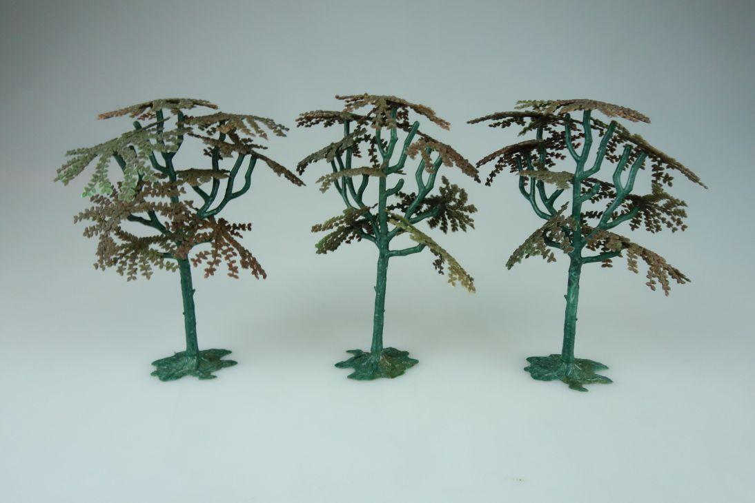 Siku Bäume 3x 60er Jahre V 653 vintage Sammler model kit 108844