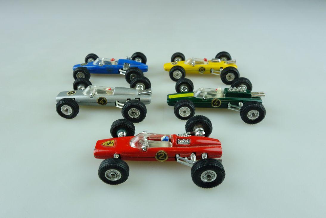 Penny 1/66 Formel 1 Konvolut Ferrari BRM Lotus Lola Brabham ohne Box 511813