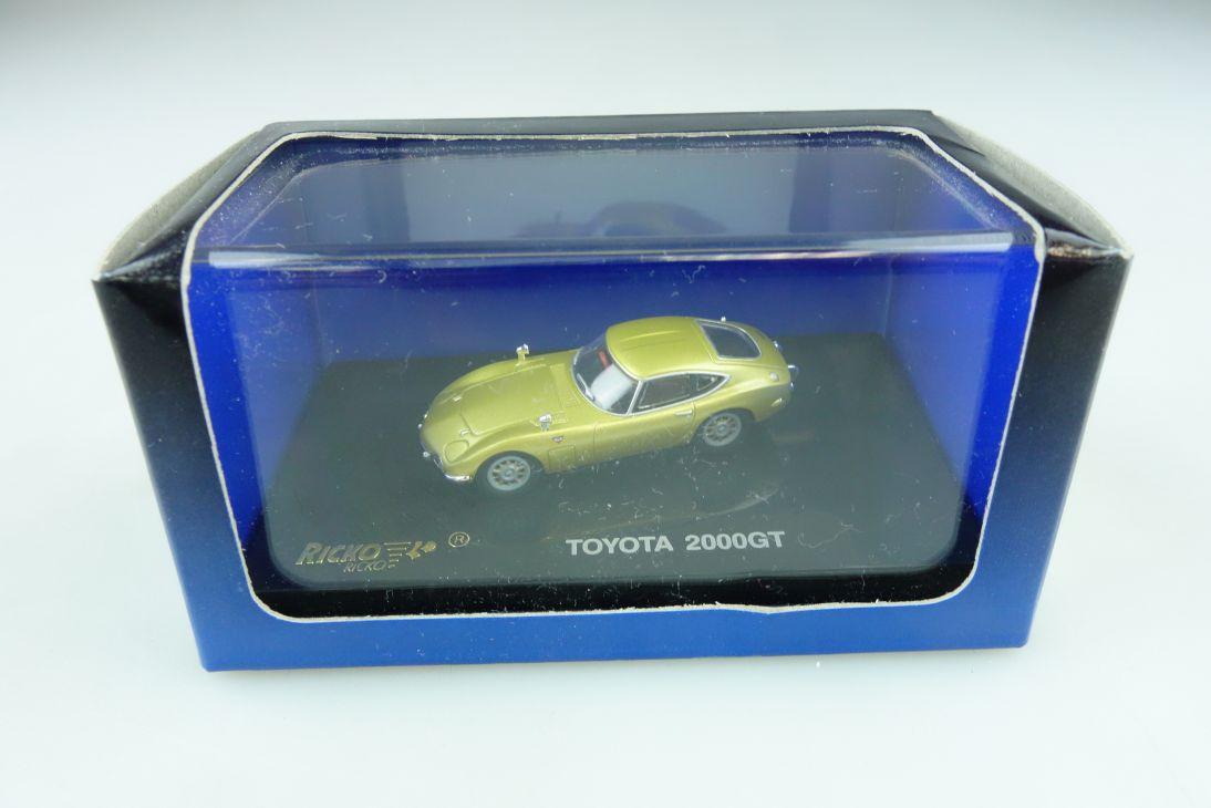 38316 Ricko 1/87 Toyota 2000 GT Coupe goldgelbmetallic mit Box 511865