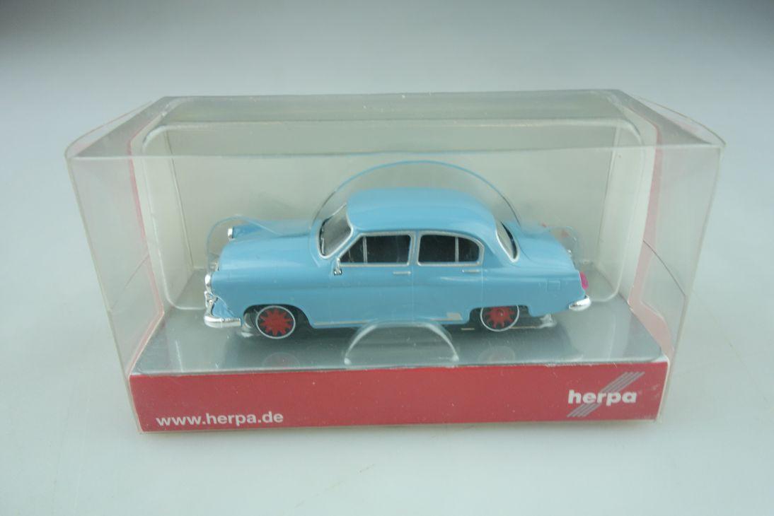 24433 Herpa 1/87 Volga M 21 Schienenfahrzeug 008 N mit Box 511868