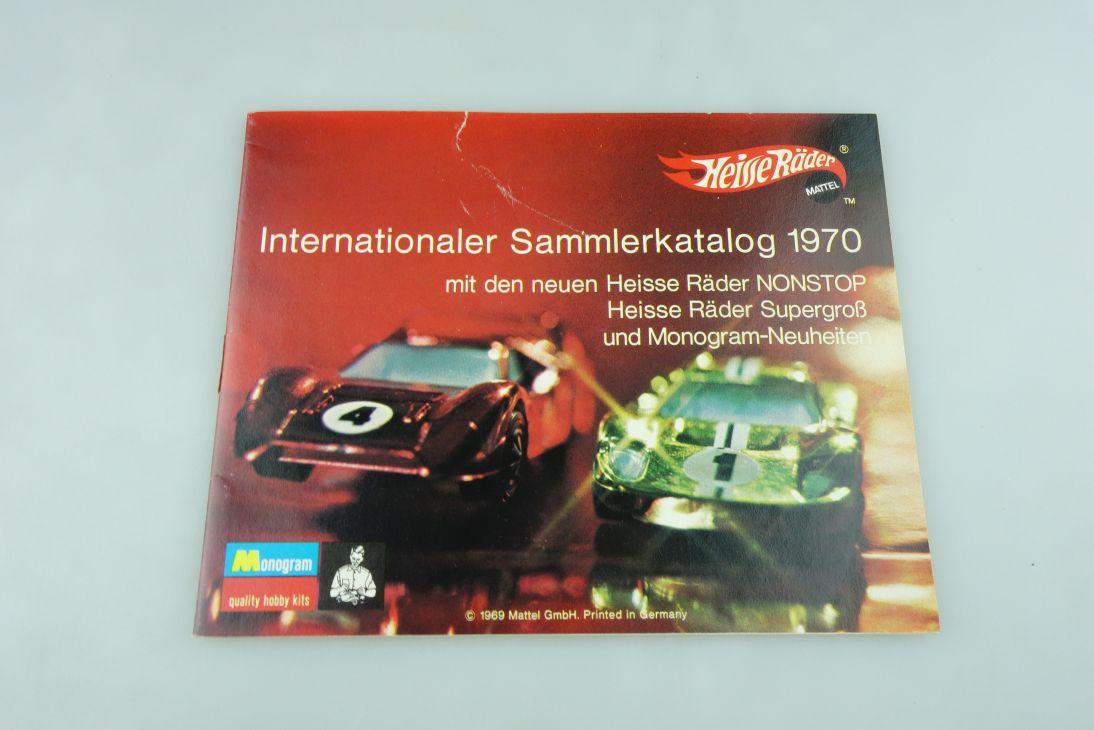 Heisse Räder 1/64 Hot Wheels Sammlerkatalog 1970 Redliner ohne Box 511878