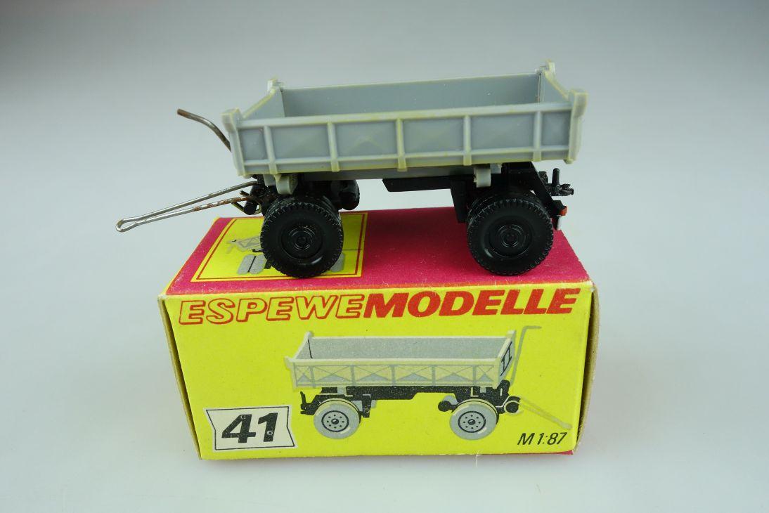 Espewe 1041 H0 2achs Kipp-Anhänger 41 DDR VEB Annaberg Buchholz + Box 108875