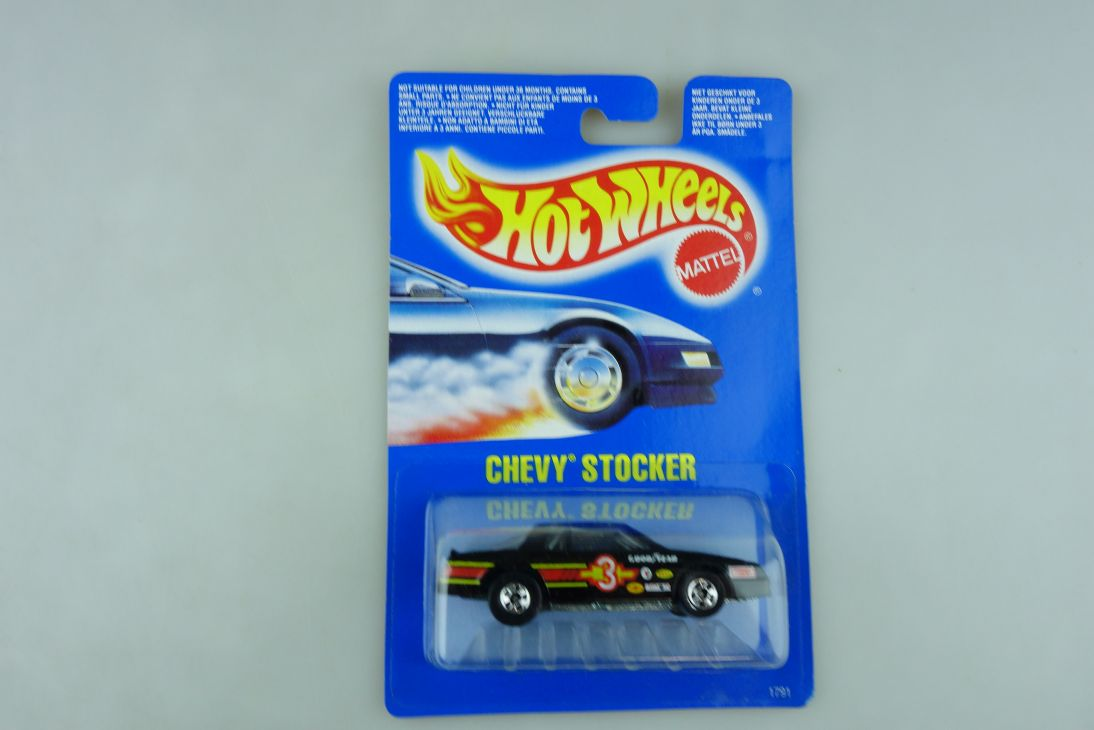 Hot Wheels 1/64 Chevrolet Chevy Stocker Stockcar Malaysia 1989 mit Box 511910
