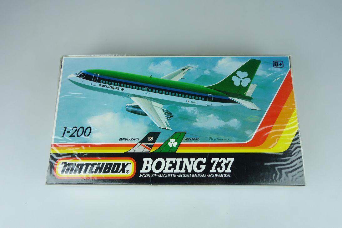 Matchbox 1/200 Boeing 737 PK-803 plane model kit sealed 108883