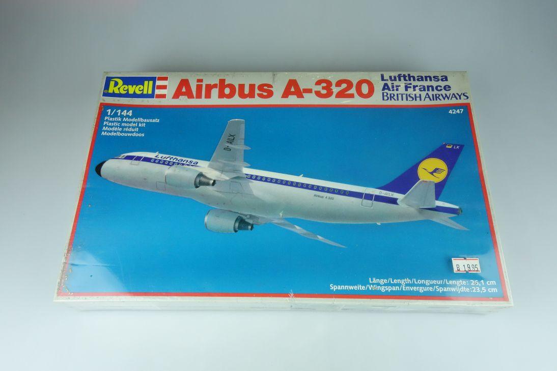 Revell 1/144 Airbus A-320 4247 plane model kit 108898