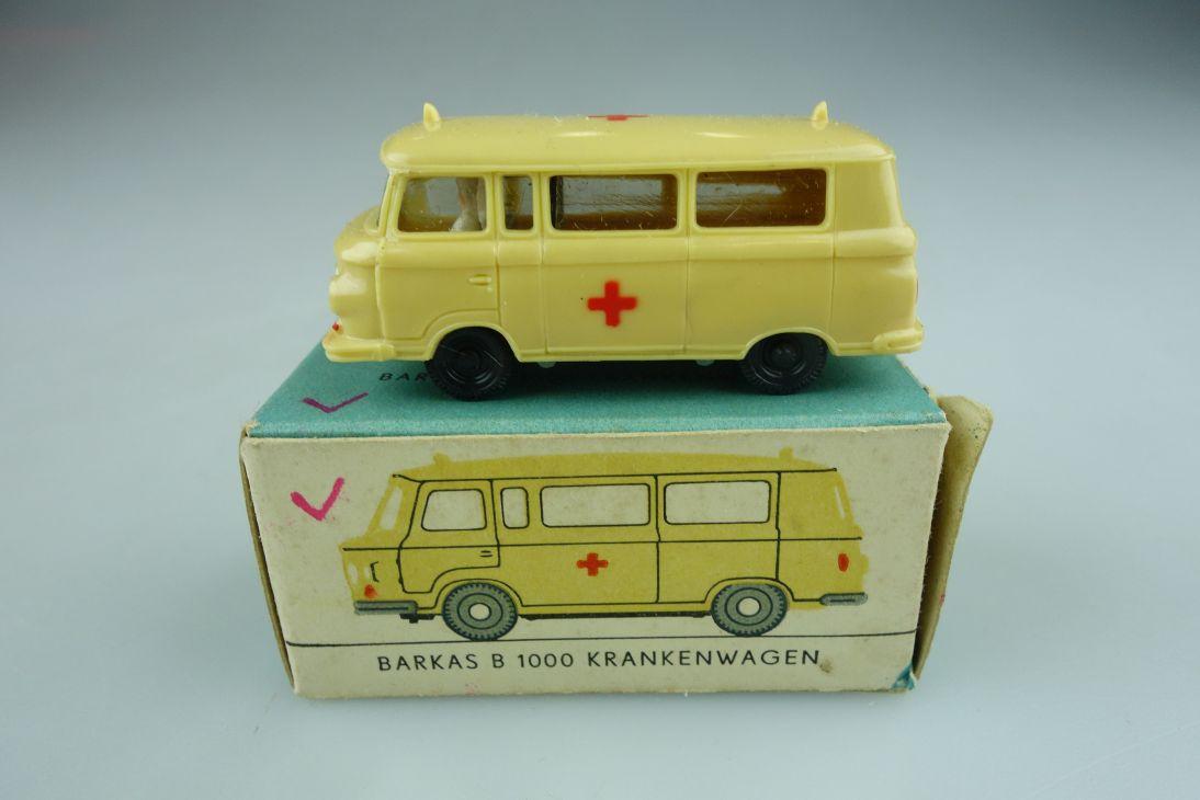 Espewe H0 1013/4 Krankenwagen Sani Barkas B1000 1013 DDR VEB Box 108920