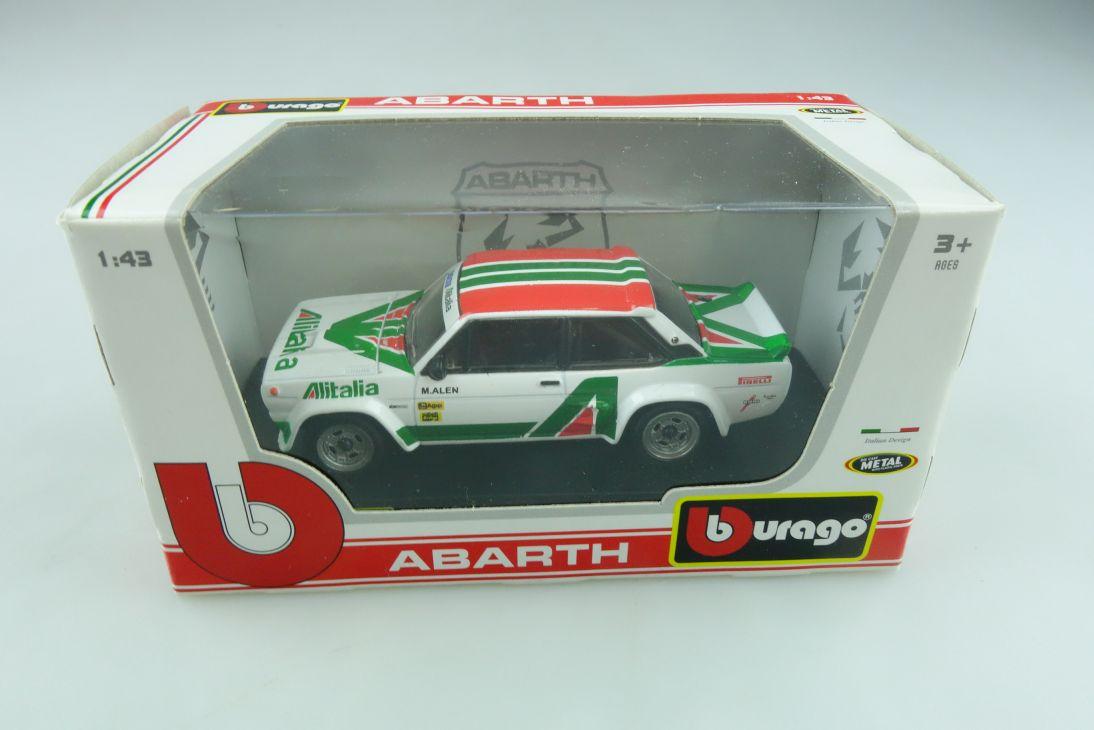 Bburago 1/43 Fiat 131 Abarth Alitalia M.Alen DTM mit Box 511971