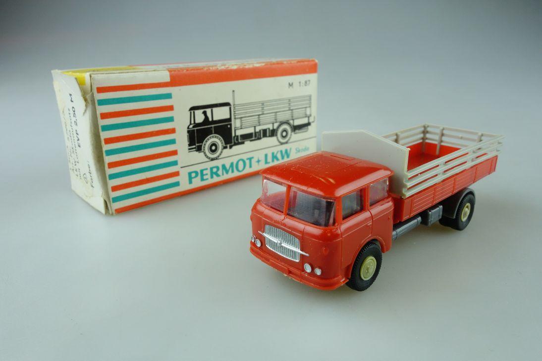 Permot Hruska H0 Skoda 706 Rt Altes FH Lattenaufsatz + Box 108941