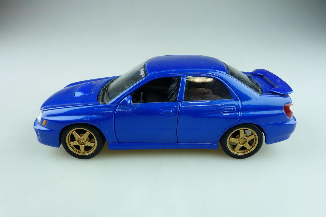 Maisto 1/24 Subaru Impreza WRX bluemetallic ohne Box 511993