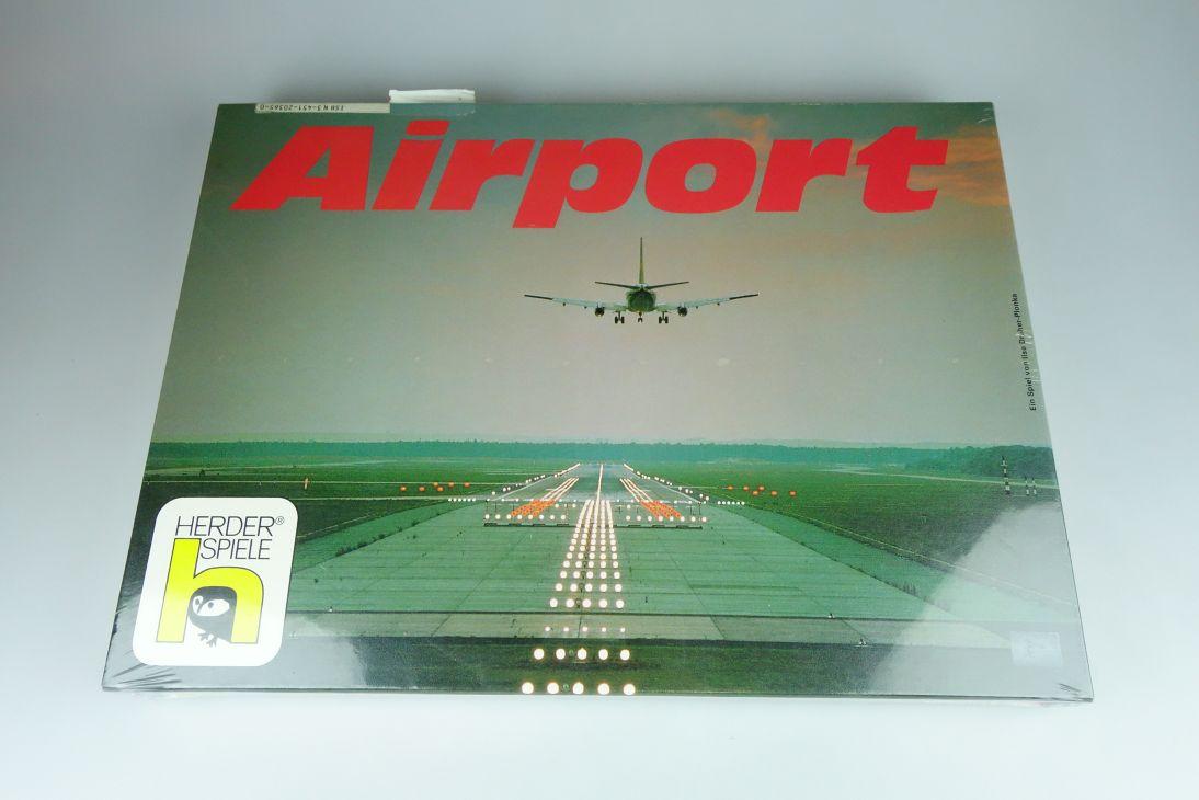 """Herder-Spiele """"Airport"""" vintage Gesellschaftsspiele Passagier/Fluglotsen 108951"""