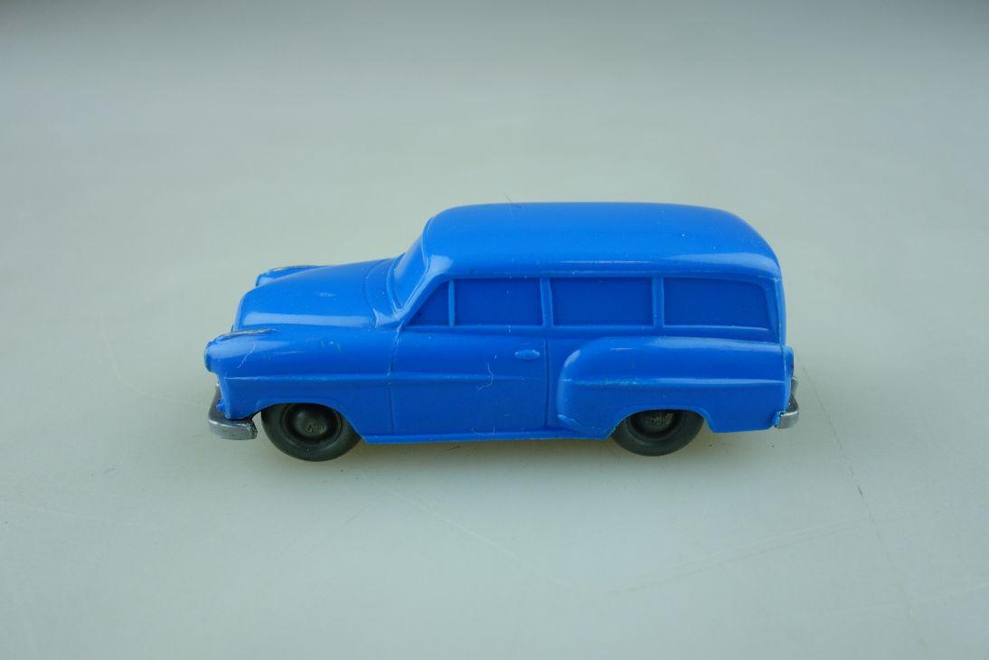 Saure 122 Wiking 1/87 Opel Olympia Rekord Caravan unverglast himmelblau  512023