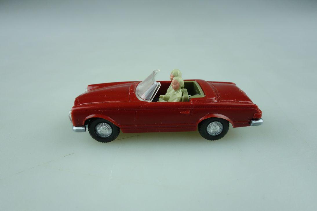 Saure 307 Wiking 1/87 Mercedes Benz 230 SL Roadster Pagode weinrot   512043