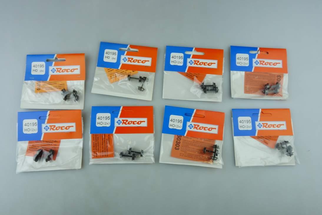 Roco H0 AC 8x 40195 9mm 16 Achsen Wechselstrom Radsatz NEU OVP PTa 108984