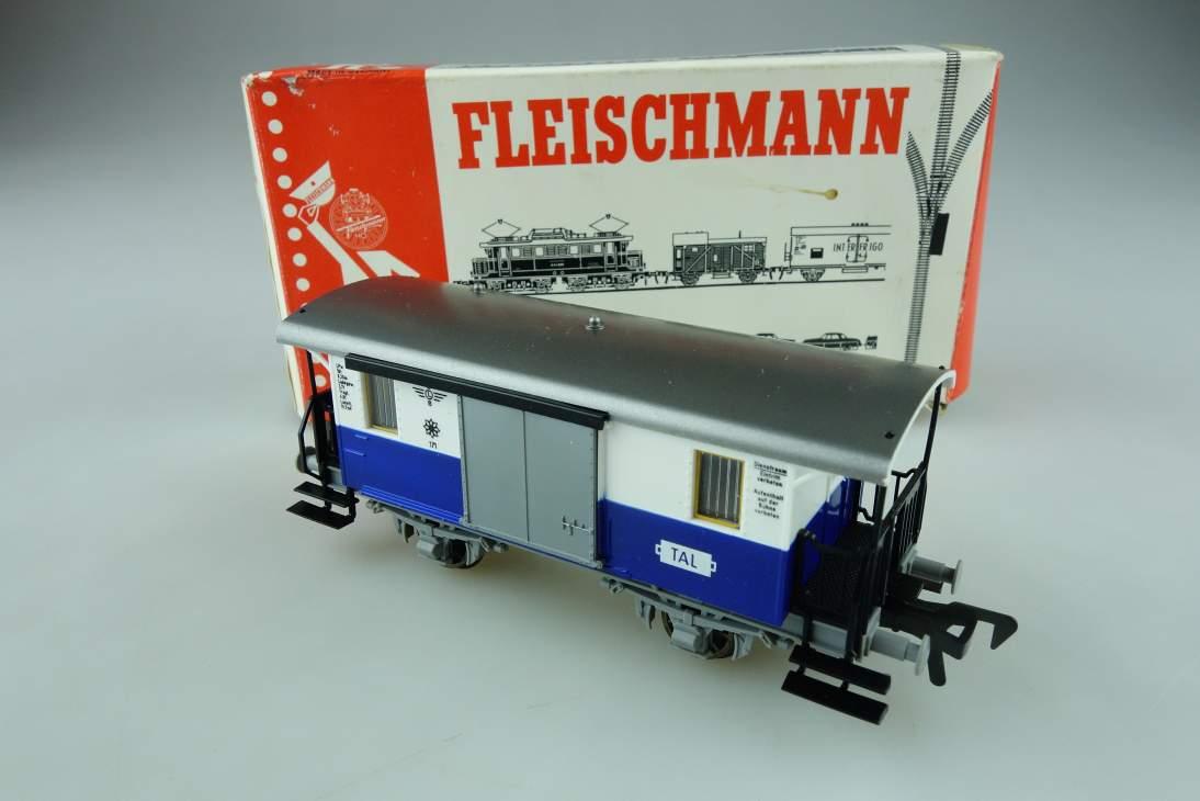 """Fleischmann H0 Gepäckwagen """"Edelweiss"""" 5054 OVP PTa 108992"""