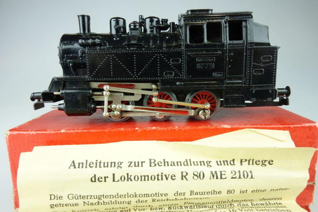 Piko H0 DC ME2101 R80 BR80 50er Jahre Dampflok Lok + Box PTa 109073