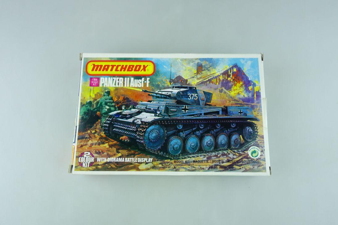Matchbox 1/76 Panzer II Ausf-F w/ Diorama Battle Display 40081 model kit 109035