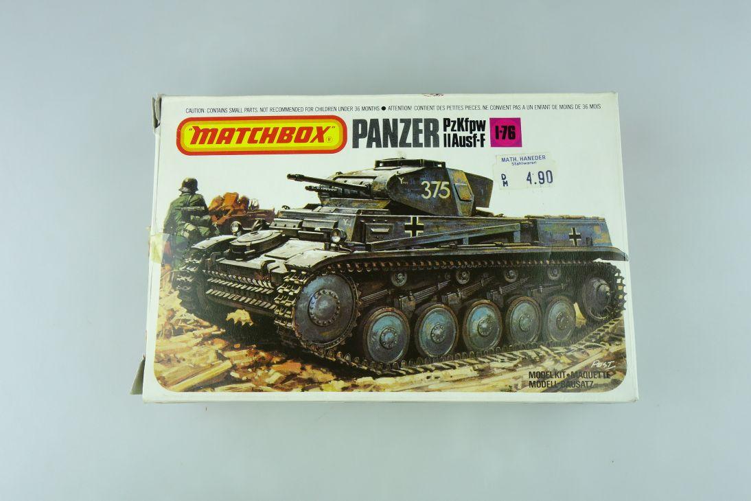 Matchbox 1/76 PzKfpw Panzer II Ausf-F PK-81 model kit 109037