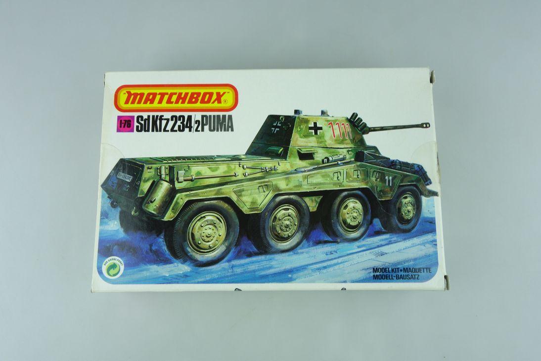 Matchbox 1/76 SdKfz 234/2 Puma 40076 model kit 109036