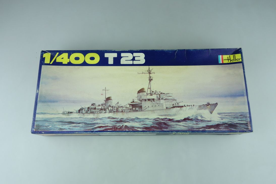 Heller 1/400 T23 Militär Schiff No1031 model kit 109041