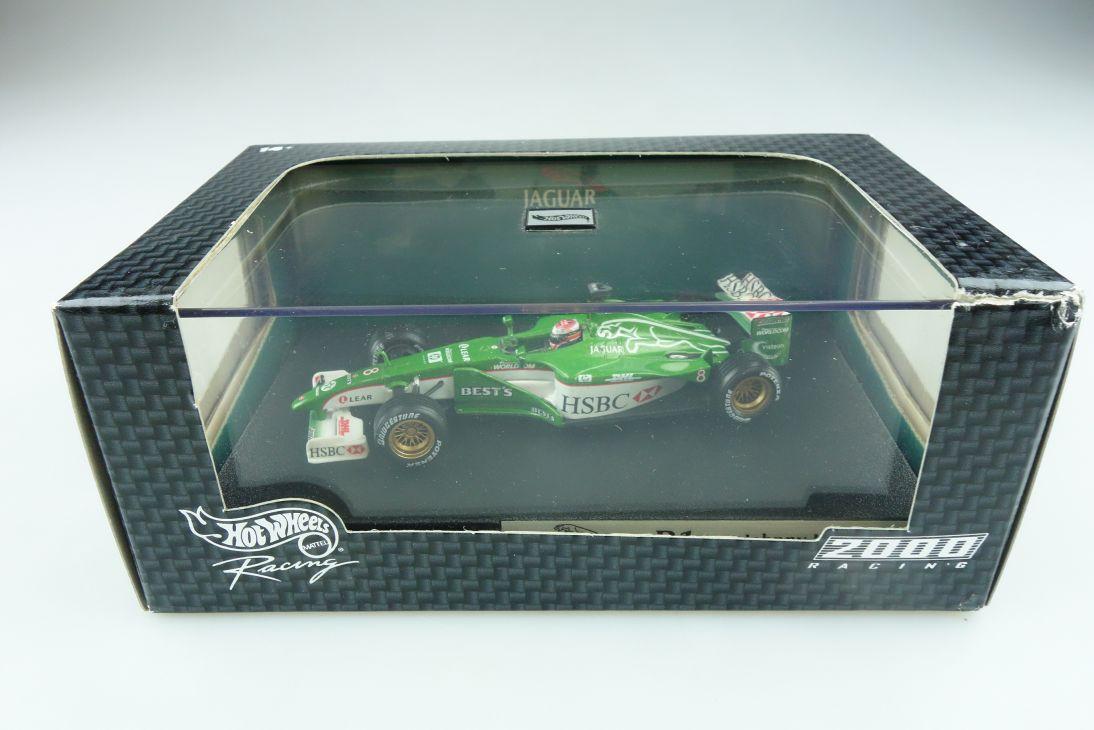 26753 Hot Wheels 1/43 Jaguar R1 2000 Formel 1 Johnny Herbert Nr.8 mit Box 512128