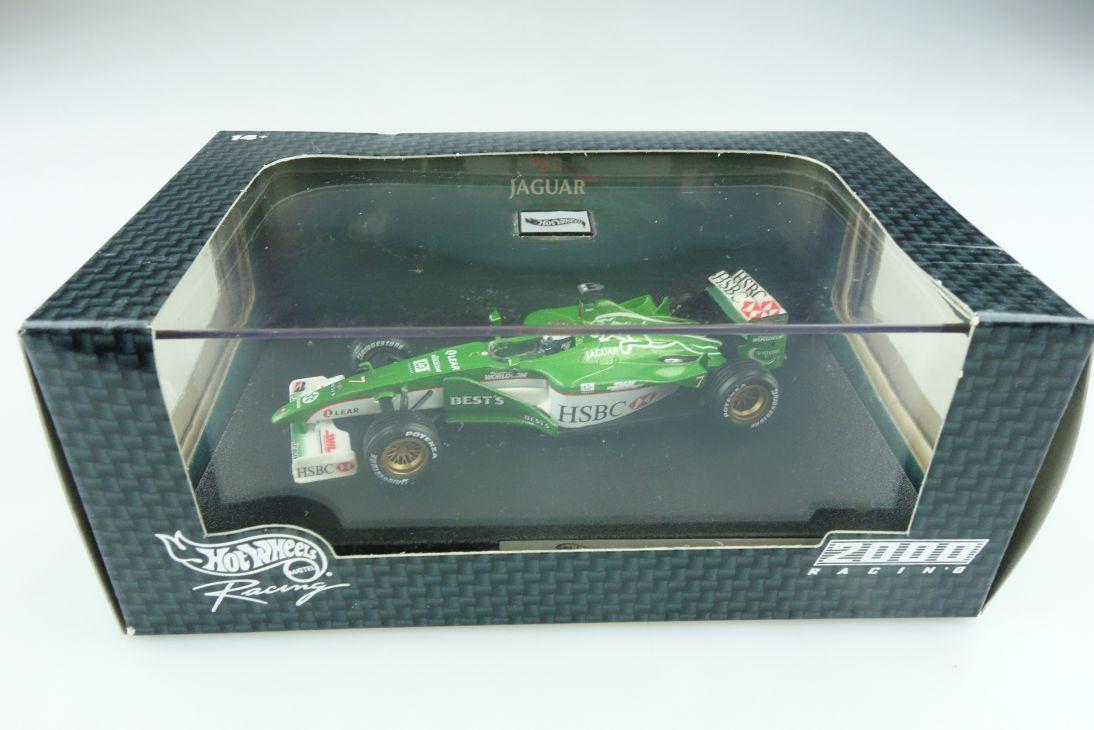 26752 Hot Wheels 1/43 Jaguar R1 2000 Formel 1 Eddie Irvine Nr.7 mit Box 512129