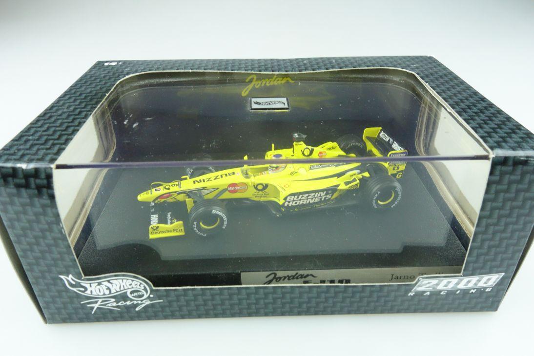 26755 Hot Wheels 1/43 Jordan Honda EJ 10 Formel 1 Jarno Trulli 2000 Box  512141